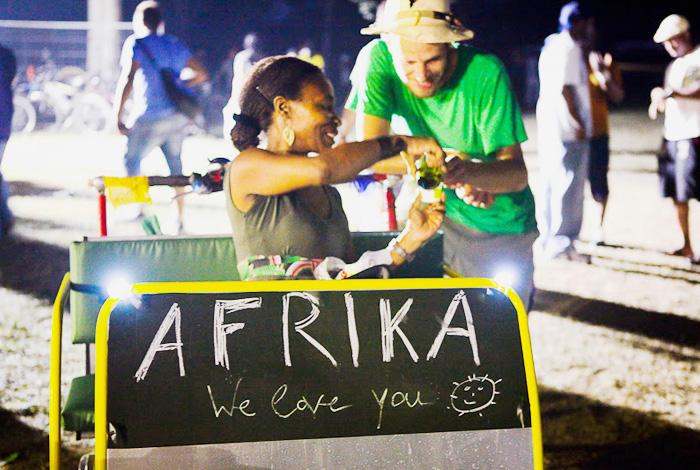 2010 stolze 12.210,- spenden die Afrika Tage in Wien