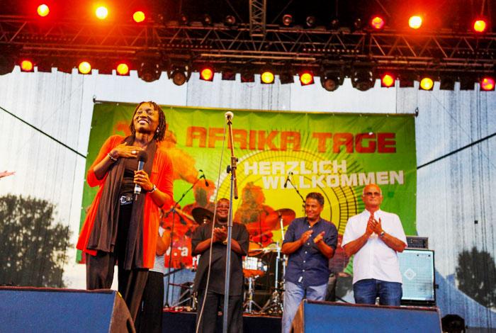 Frau Dr. Auma Obama Ehrenschutz für die Afrika Tage Wien
