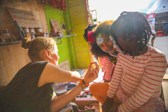 Afrika Tage Wien Aktionen auf dem Festival