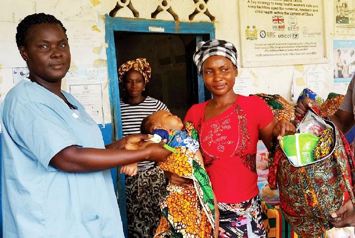 Spendenaufruf für 2019: Baby-Starterpakete für Sierra Leone