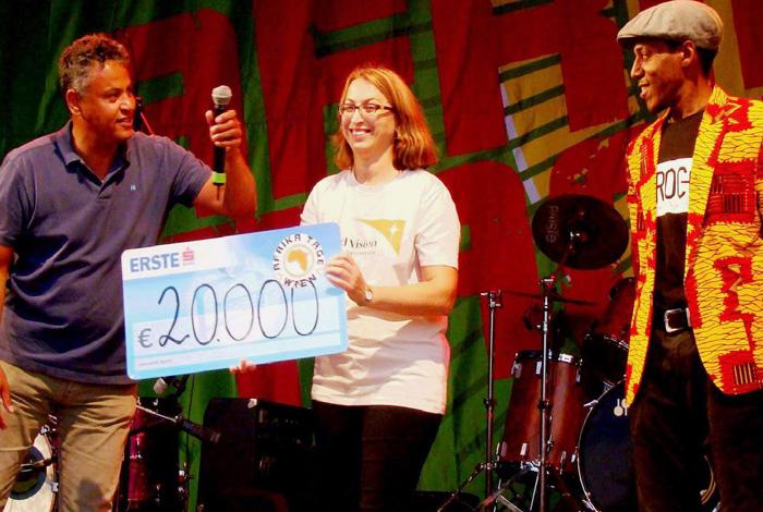 2017 Afrika Tage Wien 20.000,- für den Guten Zweck
